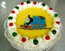 Ostyafotós torta (Thomas a gőzmozdony)
