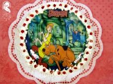 Ostyafotós torta (Scooby-Doo)