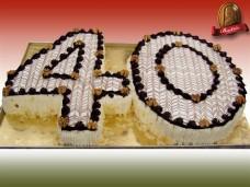 Számtorta (Eszterházy tortából)