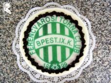 Ostyafotós torta (Fradi)