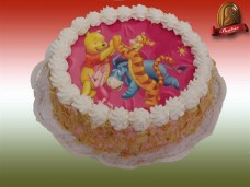 Ostyafotós torta (Walt Disney)