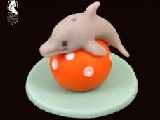 Marcipándísz (delfin labdával)