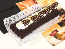 Karamell-csoki parfé torta