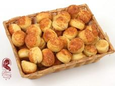 Gouda sajtos minipogácsa