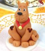 Marcipán tortadísz (Scooby-Doo)